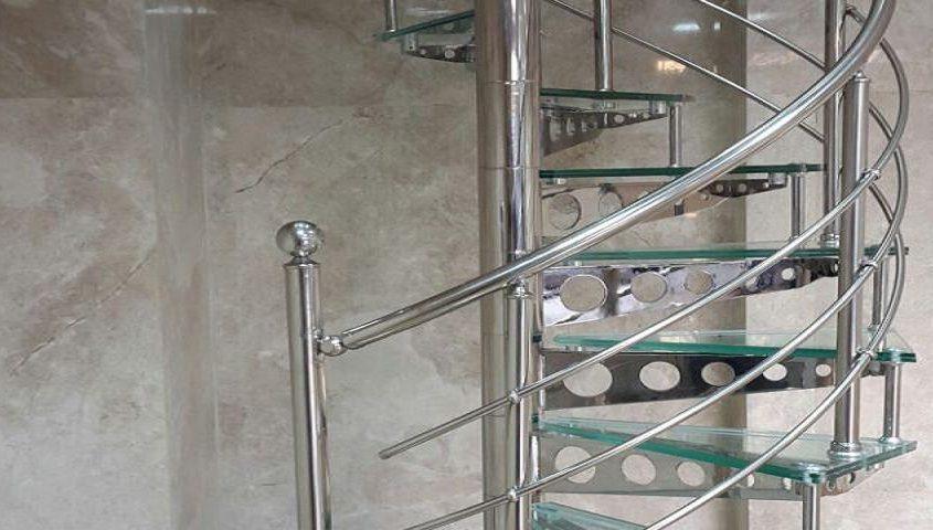 پله استیل